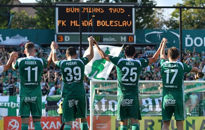 Hráči Bohemians Praha 1905, kteří zasáhli do sezony 2019/20